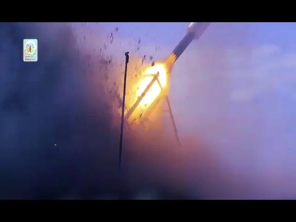 جحيم_عسقلان عن صاروخ (بدر١) المستخدم في قصف مدينة عسقلان المحتلة👇شوفوا الوصف