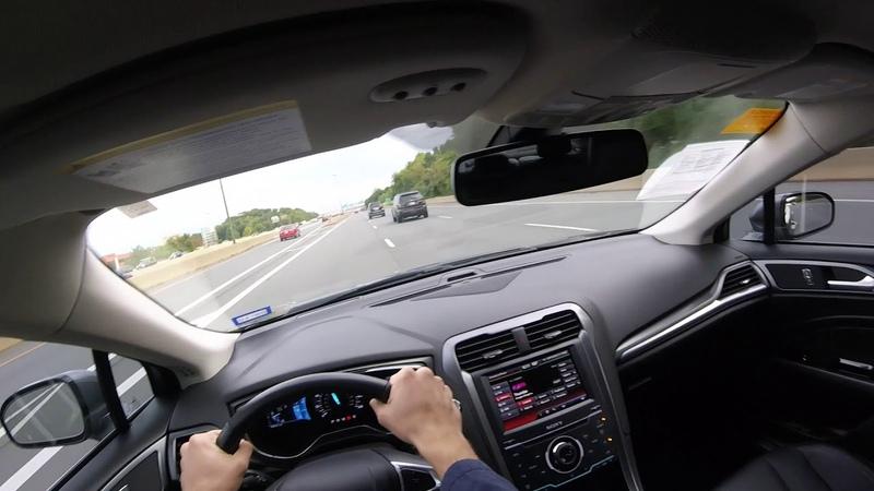 2014 Ford Fusion Titanium 2.0T POV Test Drive