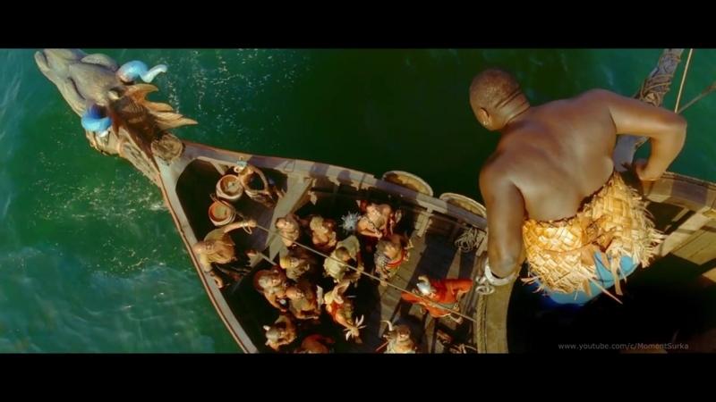 """Галлы против пиратов Красноборода.Эпизод фильма«Астерикс и Обеликс Миссия""""Клеопатра""""»(Cléopâtre)"""