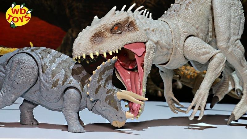 New Video Unboxing Destroy N Devour Indominus Rex Dino Rivals Mattel Jurassic World Fallen Kingdom
