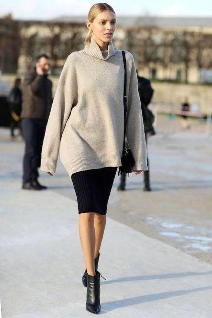 С чем носить юбку-карандаш 2019-2020: 18 актуальных образов