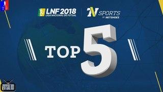 Top 5 Gols - 3ª Semana Liga Nacional de Futsal 2018