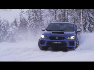 2018 Subaru WRX STI - Snow Test Drive (2018)