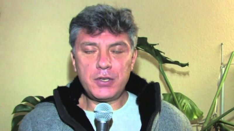 Борис Немцов: Александр Белов ( Поткин ) - политический заключенный, узник совести