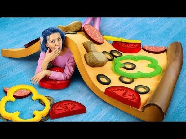 Гигантские игрушки антистресс / Огромная сквиши пицца