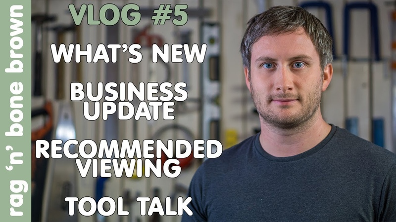 VLOG 5 - What's New / Business Update / Recommended Viewing / Tool Talk (Thor TF470 Air Filtration)
