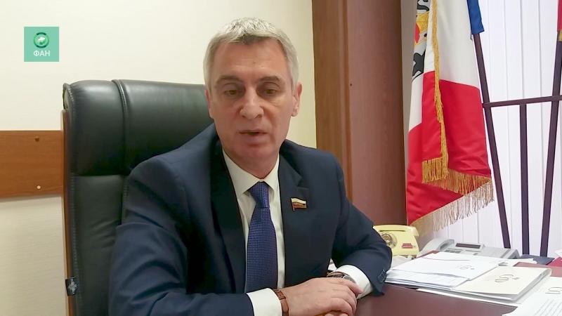 Сенатор Сергей Фабричный о брендировании товаров