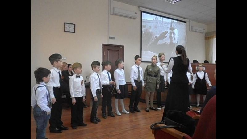 Детский ансамбль Благовест, руководитель Бем Надежда Николаевна, концертмейстер Луцаева Алла Валентиновна