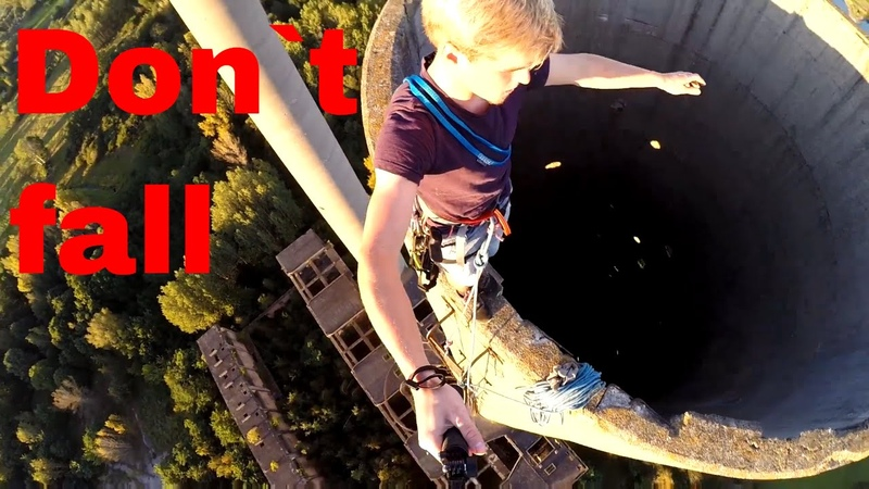 Incredible World War 2 Chimney Climb!/ Germany/ Gopro Drone