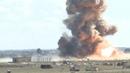 Bombardements sur Baghouz, la dernier poche de l'EI en Syrie