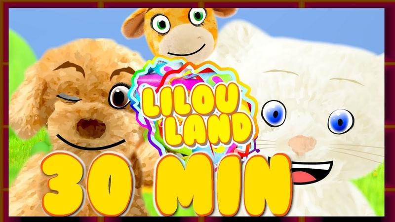 Apprendre les formes les couleurs les animaux et la présentation Compilation Lilouland