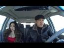 ШОК! Қазақ таксист Қырғыз қызын ойбайлатты! Таксист казах издевется над кыргызко.mp4