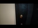 Дверь входная чёрный и серый крокодил лазерная резка Элегант