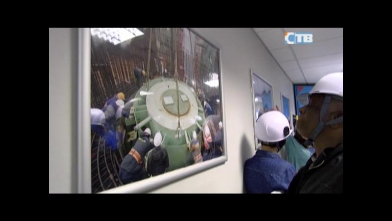 21.05.2018 Представители МАГАТЭ посетили ЛАЭС-2