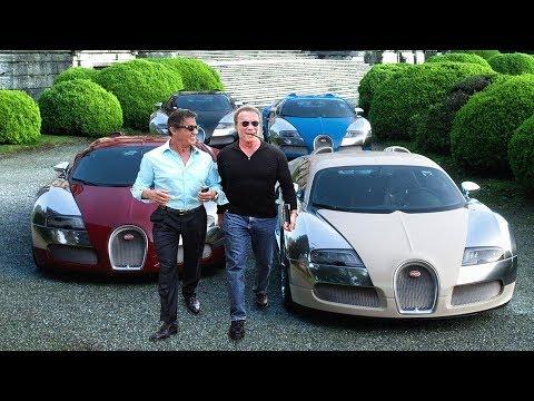 Arnold Schwarzenegger's Cars VS Sylvester Stallone's Cars ★ 2018