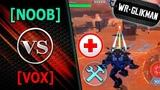 War Robots. NOOB VS VOX . Mender Доктор-Снайпер в гостях у NOOB.