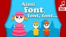 AINSI FONT FONT FONT LES PETITES MARIONNETTES comptine pour maternelle comptine bébé