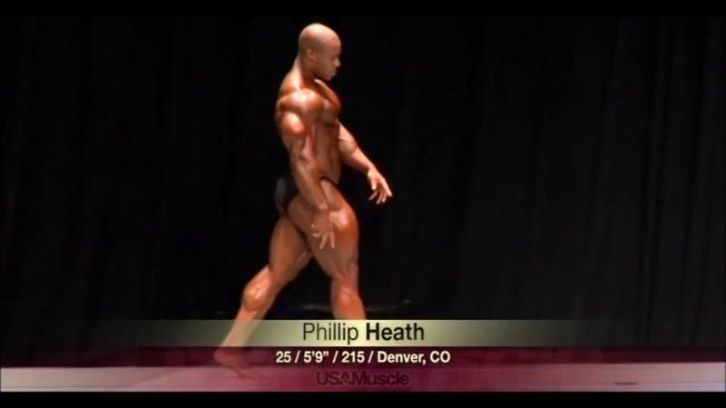 Phil Heath 2005 posing