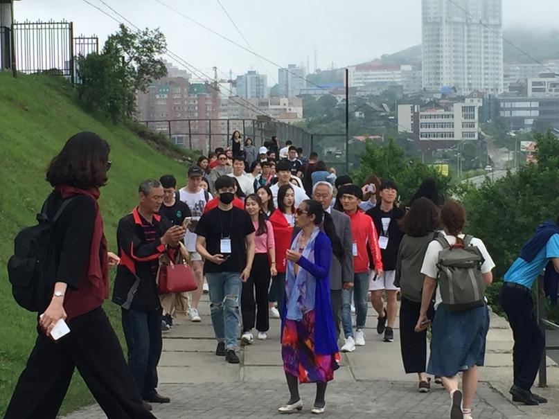 отчёт за 1.07.2018 Толпа корейцев или китайцев