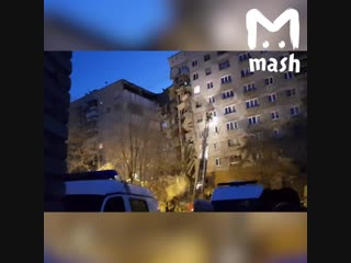 В Магнитогорске обрушился подъезд жилого дома