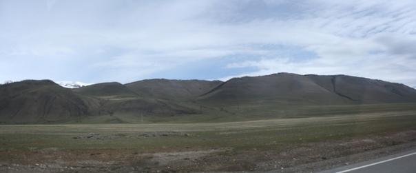 Красивые хобитонские горы.