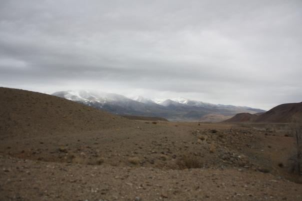 Просто насладитесь красотой Чуйской долины.