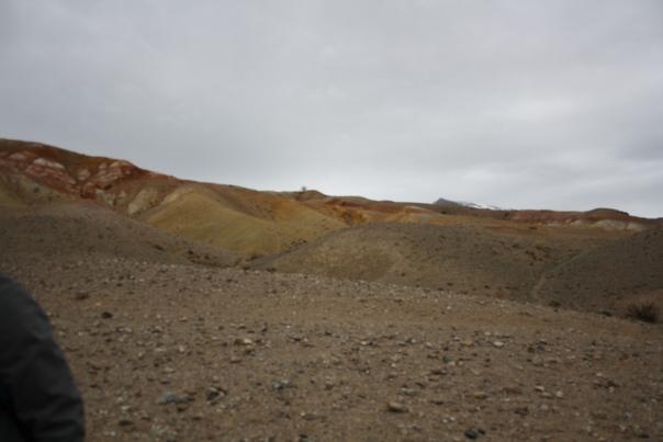 Уже недалеко до Марса. Ландшафт уже намекает.