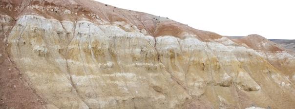 Слоистость Марсианских гор во всей красе.