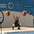 "@shin_yong_jin_ on Instagram: ""#ilinilya #QAZ2018 -102 CJ208 usually -96#weightlifting #crossfit #snatch #clean #jerk @ilyailyinforever"""