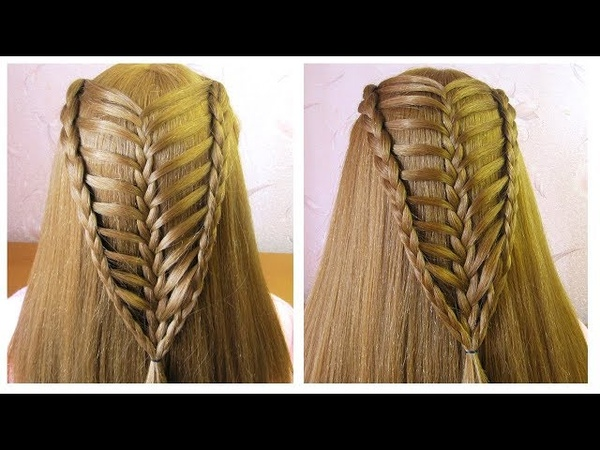 Hairstyle for open hair ♥️ Hairstyles for girls ♥️ Coiffure avec tresse ♥️ facile à faire