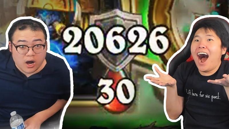 THIS DECK GAVE US *20,000* ARMOR! | Ice Cream Shaman | Rastakhans Rumble | Hearthstone