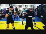 Гегард Мусаси тренируется с Дэнис Киелхольц