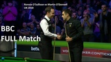 Ronnie O'Sullivan vs Martin O'Donnell (full match) UK Championship Snooker - 7th December 2018 (QF)