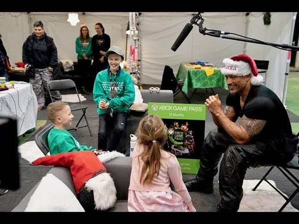 The Rock Makes Wishes Come True on Set of Hobbs Shaw