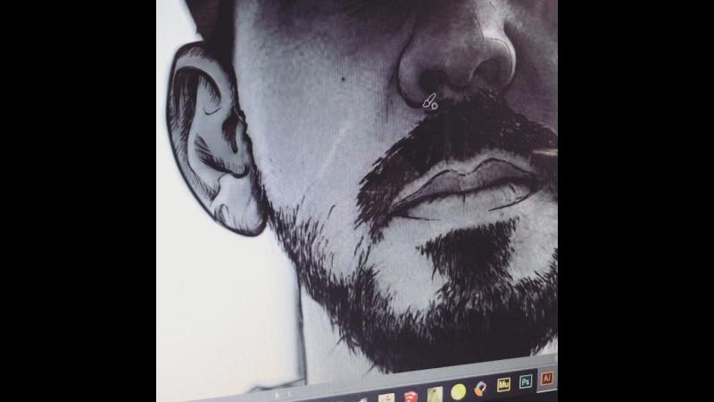 In process Artwork Mike Shinoda