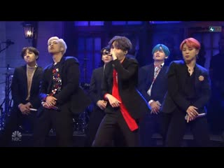 190414 BTS - 'BOY WITH LUV' @ Saturday Night Live - SNL