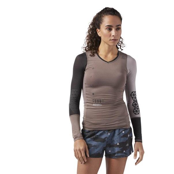 Компрессионная футболка с длинным рукавом Elite