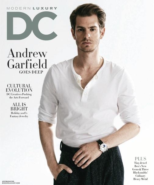 Andrew Garfield Modern Luxury, 2018