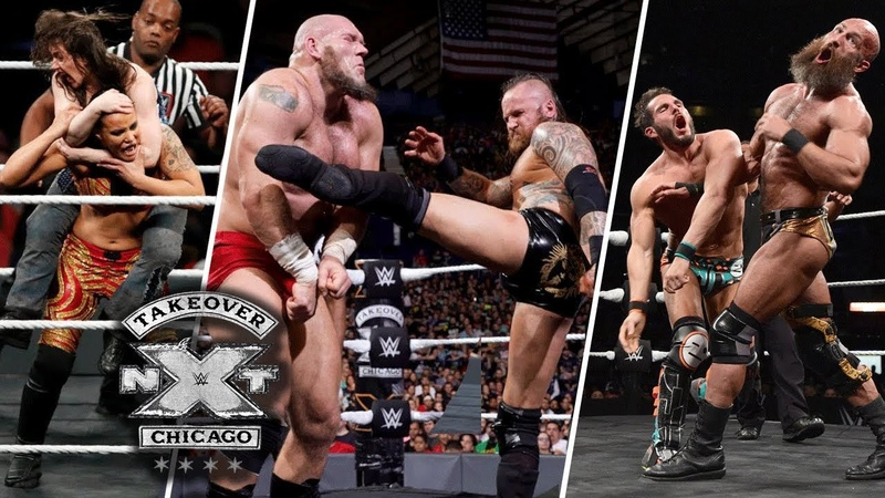 WWE NxT TakeOver Chicago II 16 June 2018 Highlights HD WWE NxT TakeOver Chicago II 2018 Highlights
