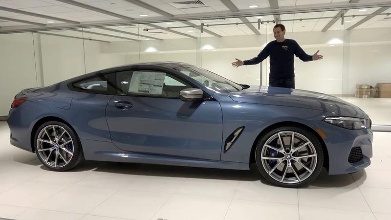 BMW 8 серии 2019 года это новая флагманская модель BMW