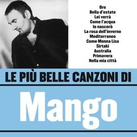 Mango альбом Le più belle canzoni di Mango