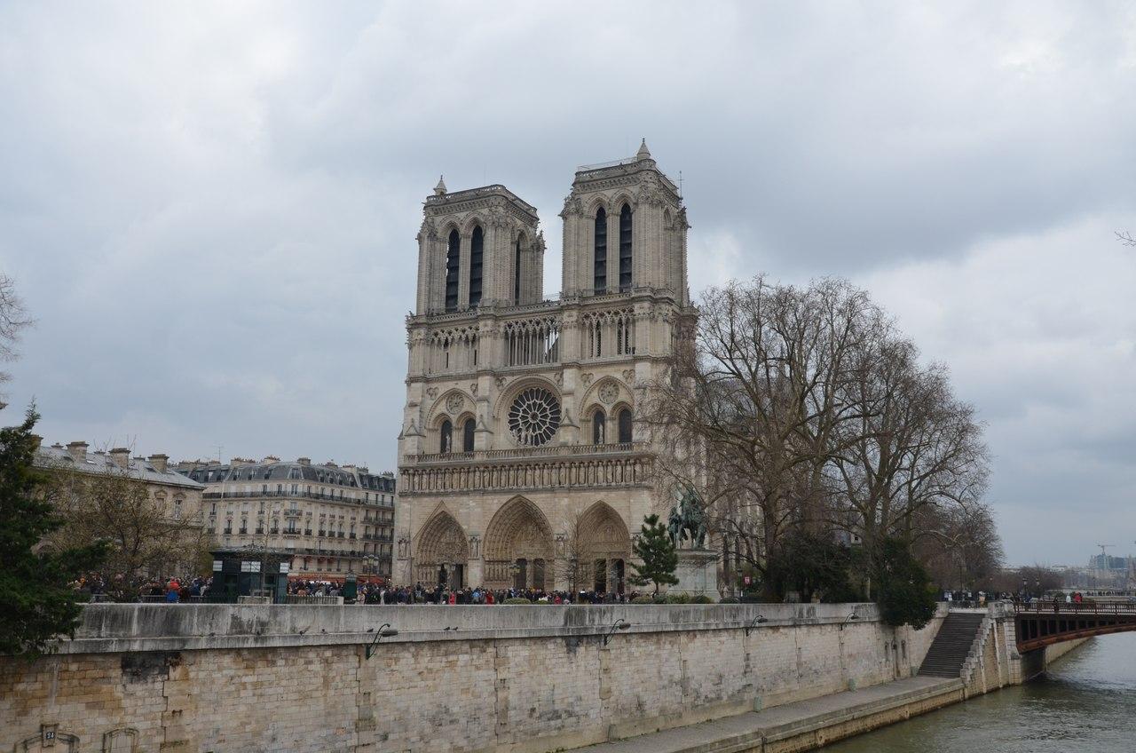 8vFKF48TuLU Нотр-Дам де Пари или Собор Парижской Богоматери.