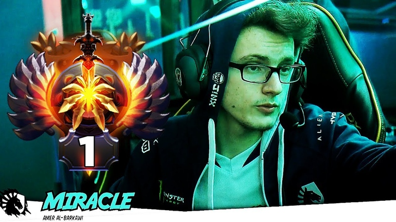 Miracle Supermajor Champion TI7 Winner going for his next Achievement TOP 1 MMR Rank in the World
