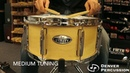 6 5x14 Pearl Modern Utility Maple Snare Drum