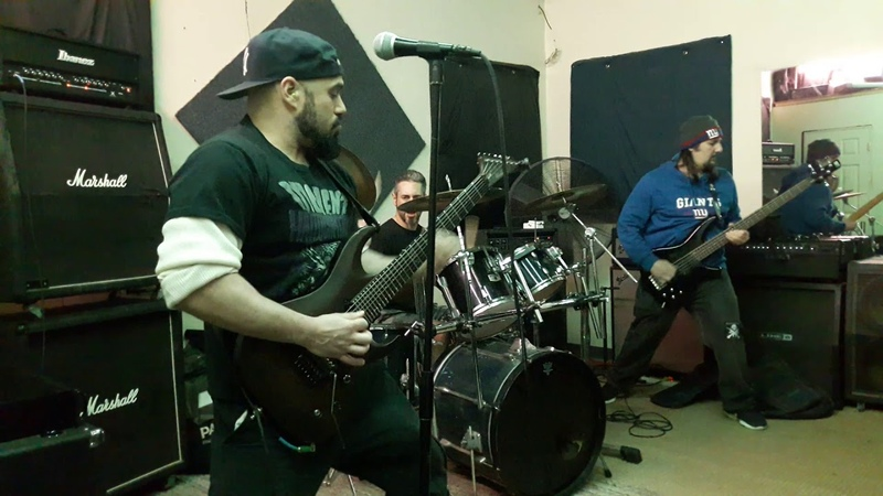 MARC RIZZO AND THE CORRUPTERS COVERING SEPULTURAS ARISE