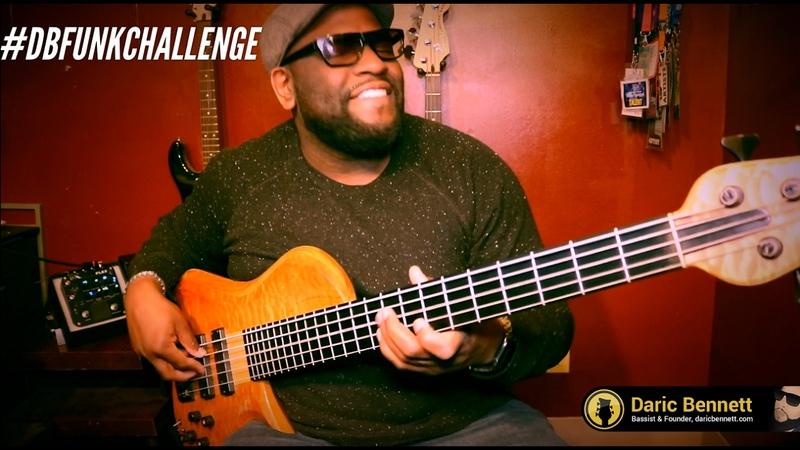 PLAY FUNK ON BASS GUITAR ~ Daric Bennetts Bass Nation - DBFUNKCHALLENGE