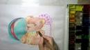 Учимся рисовать ИГРУШКИ восковые МЕЛКИ и АКВАРЕЛЬ Draw TOYS with WATERCOLOR and wax crayons