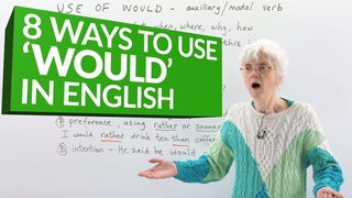 Learn English Grammar: How to use the auxiliary verb 'WOULD'