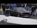 Kamikaze vs Nitrous Firebird at Route 66 No Prep Kings