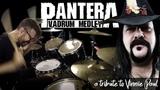 Pantera Vadrum Medley (Vinnie Paul Drum Tribute)